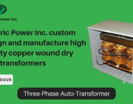 3-phase auto transformers