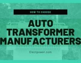 auto-transformer-manufacturers